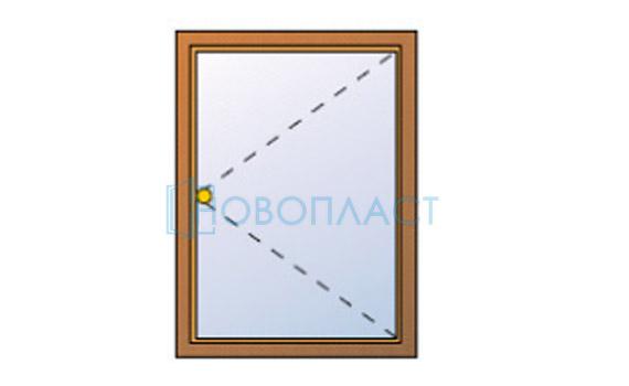 Окно пластиковое Фрамуга СПД (Двухкамерный стеклопакет)